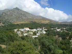 Kreta landschap, Crete landscape.