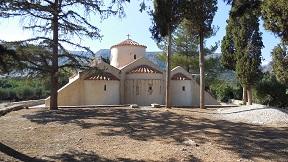 Panagia Kera Kritsa, Kreta, Crete.