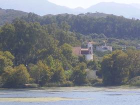 Lake Agia, Lake Agias, Crete, Kreta.