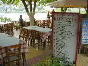 Taverna Korissia, Lake Kournas, Crete, Kreta