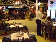Kalives, Medusa restaurant, Crete, Kreta.