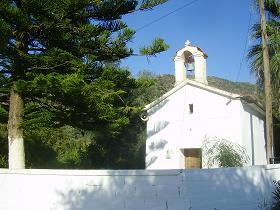 Meskla, Church of our Christ Savior, Crete, Kreta.