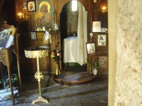 Meskla, Church of our Christ Savior, Crete, Kreta.