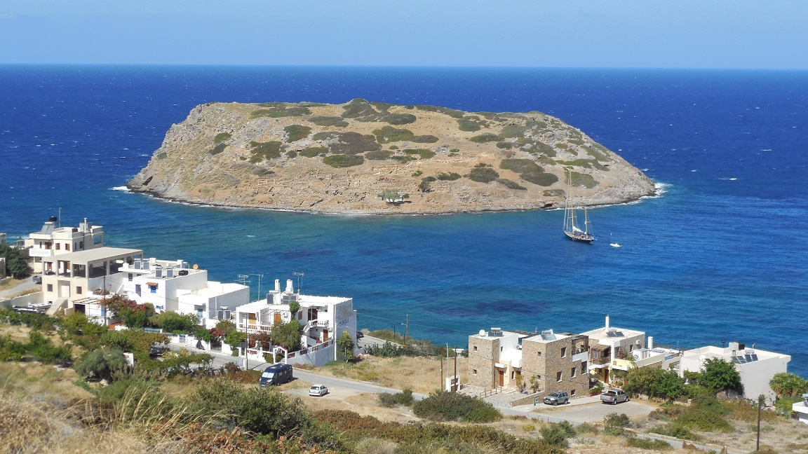 The village of Mochlos and the beaches of Mochlos in Crete