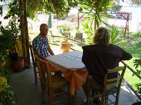 Nopigia, Taverne Café Porto Alegre, Crete.