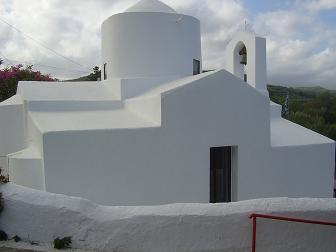 Nopigia, church of Agios Pandeleimonas, Kreta.