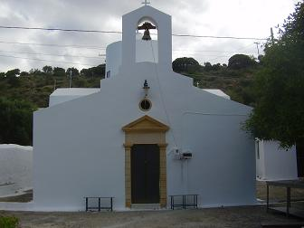 Nopigia, church of Agios Pandeleimonas, Crete.
