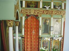 Nopigia, church of Agios Pandeleimonas, Kreta.