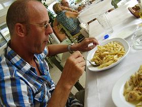 Patrelantonis Fish Taverna, Marathi Beach, Crete, Kreta