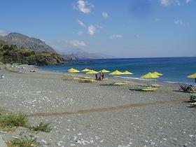 Rodakino Beach, Crete, Kreta.