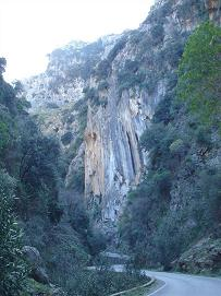 Samaria Gorge Crete, Samaria Kloof Kreta.