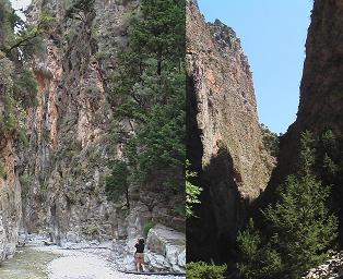 Samaria Gorge Crete, Samaria Kloof Kreta
