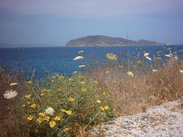Tholos Beach.