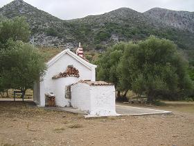 Tsichliano gorge, Crete, Kreta