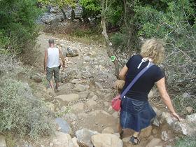 Tsichliano Gorge, Crete, Tsichliano kloof, Kreta.