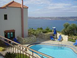 Villa Amalia in Megala Chorafia on Crete