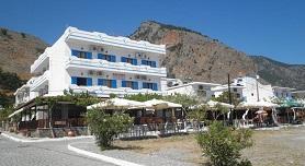 Calypso Hotel, Agia Roumeli, Crete, Kreta