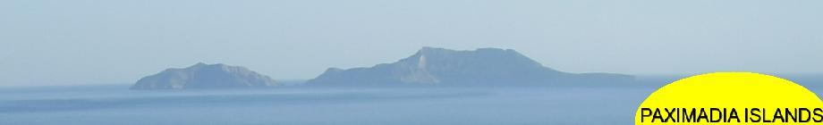 Paximadia islands