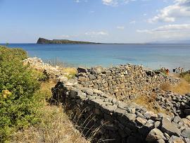 Kolokytha Beach, Spinalonga, Elounda, Crete, Kreta