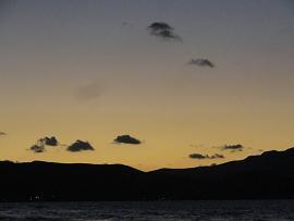 Korfolonas Beach sunset