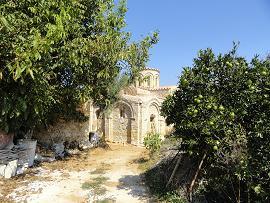 Koufos, the Byzantine church of Zoodohos Pigi, Crete, Kreta