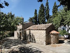 Sotiras Christos church in Akoumia Crete, Akoumia Kreta