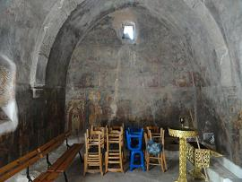 Sotiras Christos church in Akoumia Crete, Akoumia Kreta