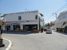 Kalamaki beach on Crete, het strand van Kalamaki op Kreta