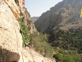 Agia Sophia Cave, Topolia Kloof, Kissamos, Kreta, Crete