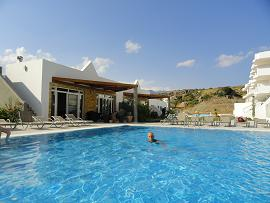 Bayview Bungalows in Makrigialos, Crete