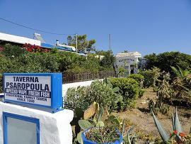 Psaropoula Fish Taverna, Ferma Beach, Handras, Crete, Kreta