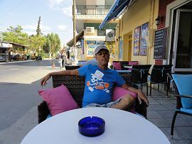 Elounda Camelot cafe Bar, Crete, Kreta