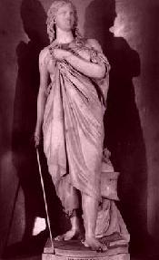 standbeeld van Diktynna