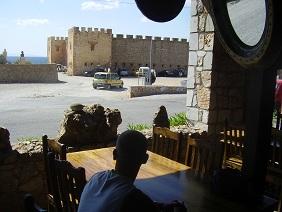 Taverna Drosoulites, Frangokastello, Frangokastelo, Crete, Kreta.
