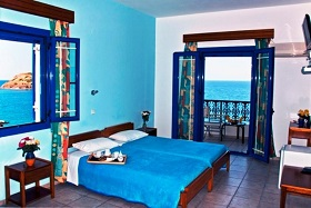 Pension Blue Sea - Mochlos, Crete, Kreta.