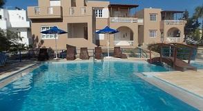 Nostalgia Villas , Tersanas beach, Crete, Kreta.