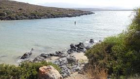 Tersanas beach, Crete, Kreta.