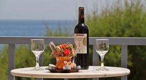 Sougia beach, Santa Irene Studios & Apartments, Crete, Kreta.