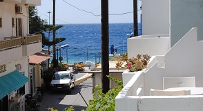 Sougia beach, Pension Irene, Crete, Kreta.