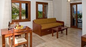 Sougia beach, Syia Hotel, Crete, Kreta.