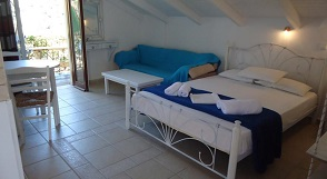 Sougia beach, Galini Studios & Apartments, Crete, Kreta.