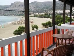 Pal Beach in Paleochora, Crete, Kreta.