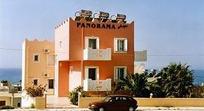 Panorama Apartments in Paleochora, Crete, Kreta.