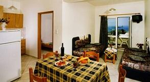 Panorama Apartments in Paleochora, Crete, Kreta.