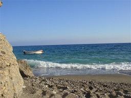 Koutelos beach, Chora Sfakion, Crete, Kreta.
