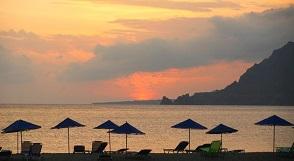 Plakias beach, Crete, Kreta.