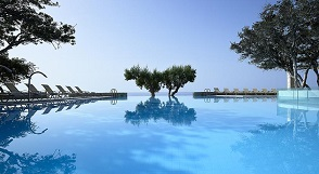Kakkos Bay Hotel and Bungalows, Ferma beach, Crete, Kreta.