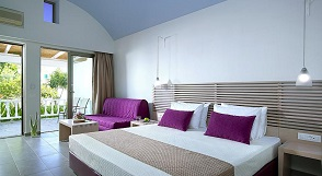 Kakkos Bay Hotel and Bungalows, Ferma beach, Crete, Kreta.