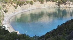 Istron beach, Istro, Crete, Kreta.