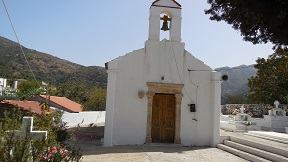 Kefali church, Crete, Kreta